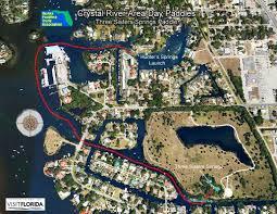 Crystal River Florida Map by Florida Saltwater Circumnavigation Paddling Trail