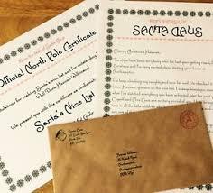 personalised vintage christmas letter from santa u0026