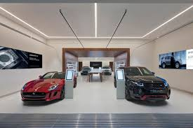 jaguar land rover opens in store retail concept in london at