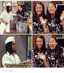 Kenan And Kel Memes - kel doesn t get how tia and tamera can tell each other appart in a