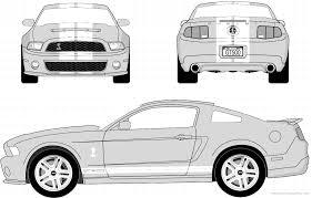 voiture ford à imprimer véhicules voiture ford numéro 575797