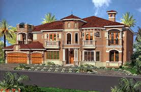 spanish style courtyard home plans so replica houses