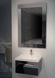 bathroom infinity mirror perfect reflection rgb led bathroom infinity mirror k216rgb