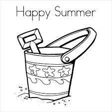9 Summer Coloring Pages Free Word Pdf Document Download Free Summertime Coloring Pages