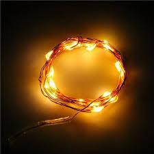 copper wire led lights zk876502 2m 20 leds light