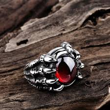 men ring claw men ring ruby sapphire atperrys