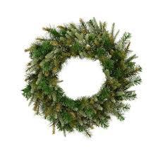vickerman 24 artificial wreath unlit target