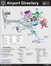 Logan Airport Map Magella Architects