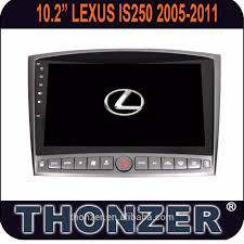 lexus is dvd player pure android 6 0 car dvd player with 10 2 inch touch screen for