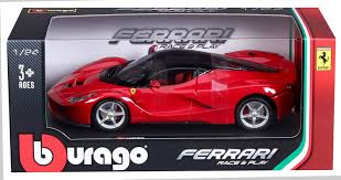 toy ferrari model cars bburago ferrari model scale 1 24 assorted colors and patterns