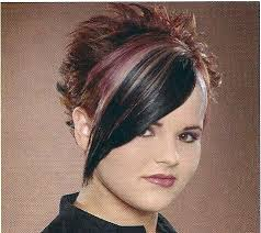 spiked hair with long bangs spiked back long front punk haircut make up and hair pinterest
