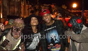 universal studios halloween horror nights hiring zoe saldana chanel iman and jordan clarkson leona lewis visit