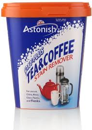 Tea Staining With Pictures by Remove Stains With The Astonish Oxy Plus Tea And Coffee Stain
