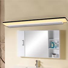 Bathroom Mirror Light Fixtures Led Bathroom Mirror Lamp Bedroom Vanity Wall Lights For Home