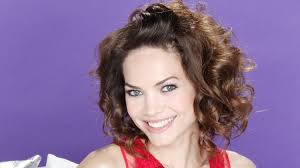 what style hair does rebecca herbst general hospital s rebecca herbst recalls 20 years in port charles