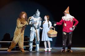 wizard of oz cowardly lion costume star news elk river high theatre department impresses crowd with