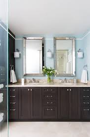 mirrored bath vanity with traditional toronto and double sink