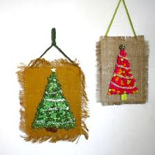 retro tissue paper trees things to make and do crafts