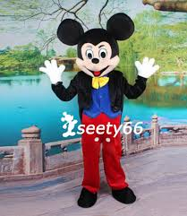 disneyland mr mickey mouse costume mascot fancy dress for sale