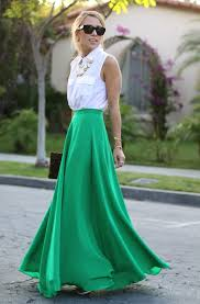 maxi skirt how to style a maxi skirt fashiongum