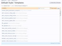 templates for xenforo template tools for admins now including admin template search