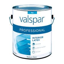 valspar professional interior flat paint gallon interior paint