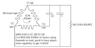 ask the renewable energy guru three phase motor as single phase