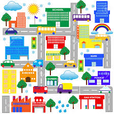 Neighborhood Map Neighborhood Map Clipart 30