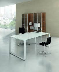 bureau verre design bureau en verre votre bureau en verre haut de gamme sur attitude