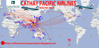 American Airline Route Map by Cathay Pacific Route Map My Blog