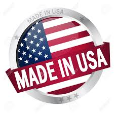 Flags Made In Usa Button Made In Usa Royalty Free Cliparts Vectors And Stock