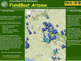 Northern Arizona Map by Fishing Arizona The Arizona Experience Landscapes People