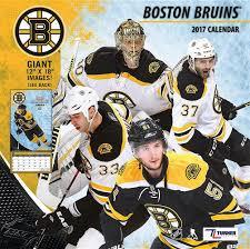 Boston Bruins Home Decor Cal 2017 Boston Bruins 2017 12x12 Team Wall Calendar Turner