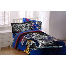 transformers 4 silver knight twin reversible bedding comforter