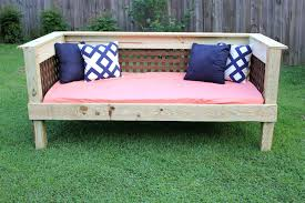 diy daybed plans bedroom extraordinary making outdoor daybed diy cushionimple design