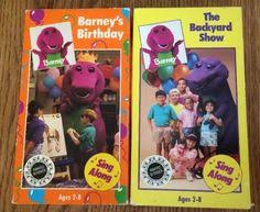 The Backyard Show Book Barney by Barney U0027s Halloween Party Blockbuster Exclusive Vhs Barney Vhs