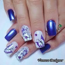 30 dark blue nail art designs dark blue nails blue nails and