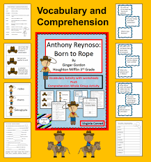 anthony reynoso born to vocab and comprehension hm grade