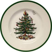 spode tree dinner plate from