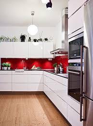 Red Colour Kitchen - 40 sensational kitchen splashbacks u2014 renoguide