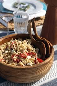 Mediterranean Style Food - orzo pasta salad recipe popsugar food