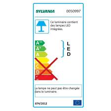 sylvania t5 led ls réglette led ls 10 2w 4000k sylvania ampoules service