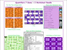 quantifiers board game by eslfungames teaching resources tes
