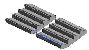 stair nosing treads and stringers u2013 landarchbim