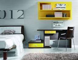 chambre ado grise chambre enfant chambre fille ado grise accents jaunes chambre de
