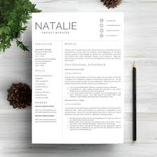 Bold Resume Template by Resume Template 5 Pages Cv Columns Bald Hairstyles And Modern