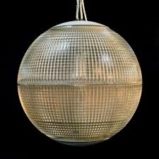 french spherical pendant lights c 1960 to c 1963 france from
