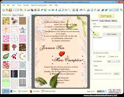 wedding invitations maker wedding card maker software designs printable wedding invitation cards