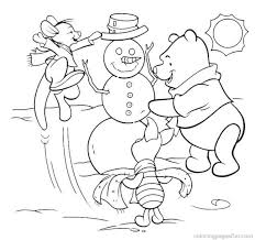 disney christmas coloring pages print free picture coloring