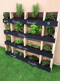 Wood Pallet Garden Ideas Wooden Pallet Vertical Pallet Garden Idea Easy Diy Furniture